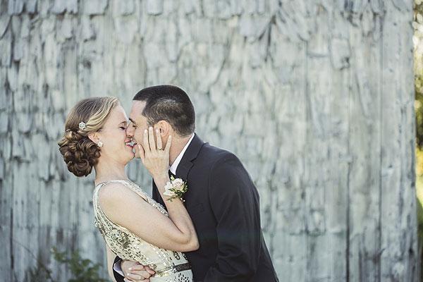 Podignuta kosa za formalnije vjenčanje