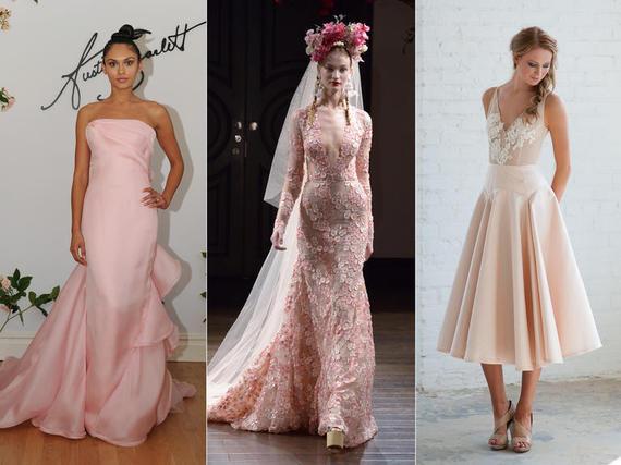 Pink vjenčanice