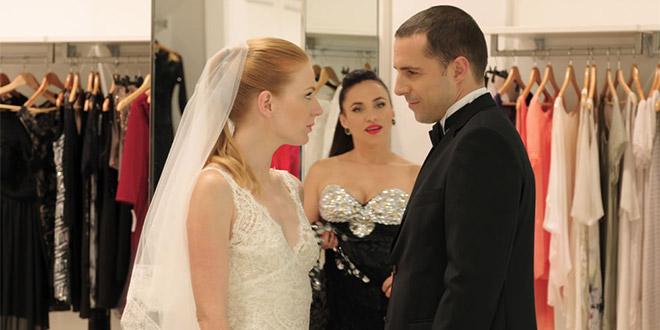 Scena iz TV serije Prava žena u Wedding Cityju
