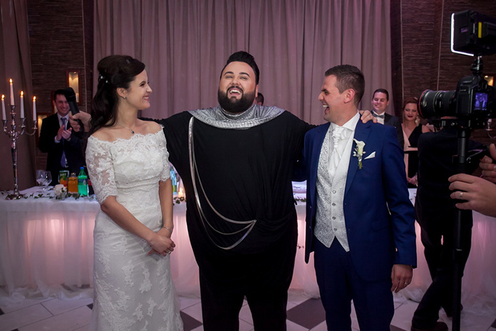 Jacques Houdek crashao vjenčanja u Zagrebu