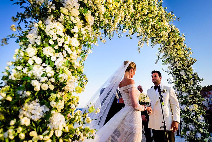 Mladenci na vjenčanju