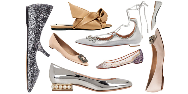 Ravne cipele za vjenčanje
