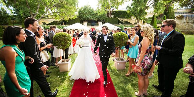 Redoslijed na dan vjenčanja