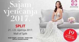 Sajam vjenčanja u Splitu Mall of Split