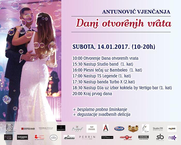 Hotel Antunović program Dana otvorenih vrata subota