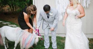 Jednorog na vjenčanju za princeze željne prave čarolije