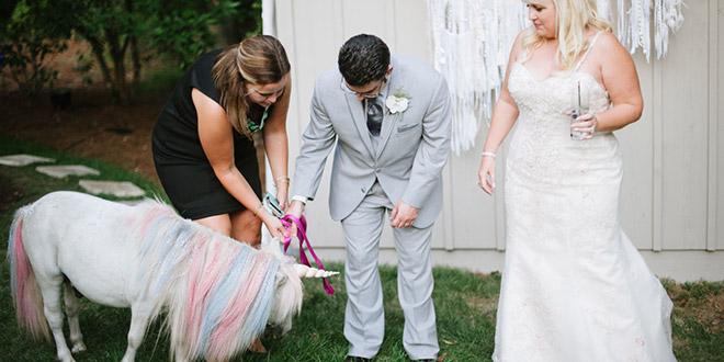 Jednorog na vjenčanju (Photo: Jessica Maida)