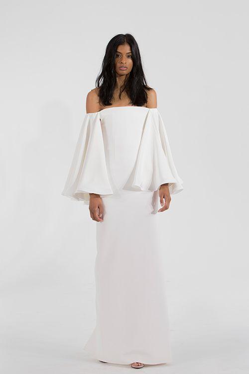 Vjenčanica golih ramena