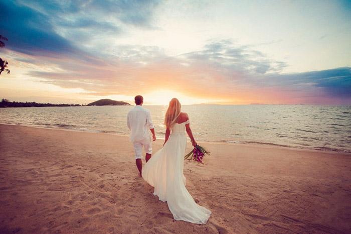 Vjenčanje ljeto mladenci