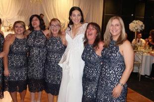6 djevojaka u istoj haljini na vjenčanju