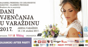 Dani vjenčanja u Varaždinu 2017 u Areni