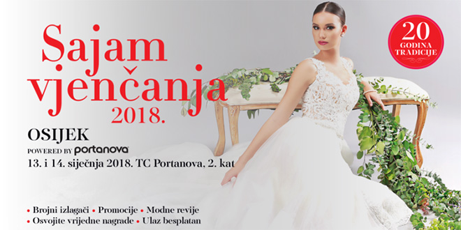 Sajam vjenčanja Osijek 2018
