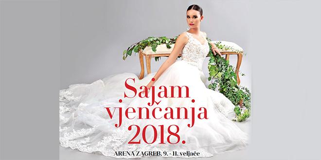 Sajam vjenčanja Arena Zagreb 2018