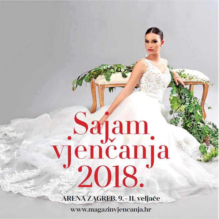 Sajam vjenčanja u Areni Zagreb 2018