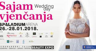 Sajam vjenčanja, zdravlja i ljepote u Spaladium Areni