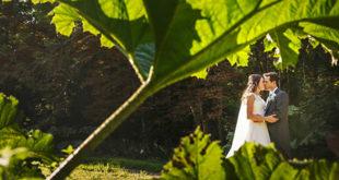Vjenčanje mladenci list