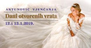 Dani otvorenih vrata svadbenih svečanosti u Hotelu Antunović Zagreb
