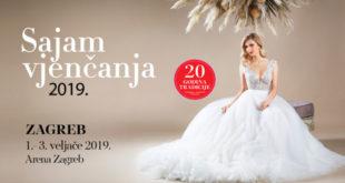 Sajam vjenčanja Zagreb u Areni u veljači 2019.