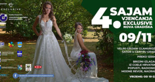 4. Sajam vjenčanja Exclusive Nova Gradiška