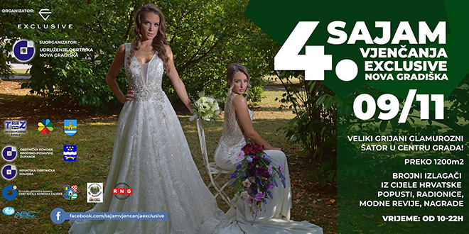 Sajam vjenčanja Exclusive Nova Gradiška