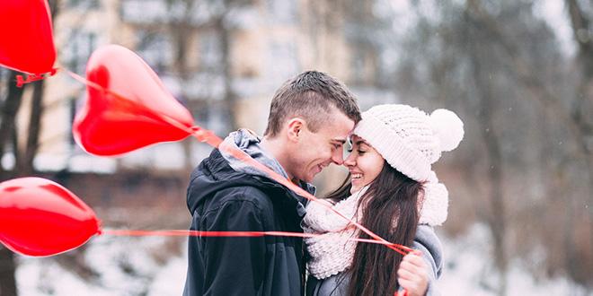 Ljubavni par u zimu