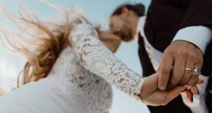 Sretan par vjenčanje