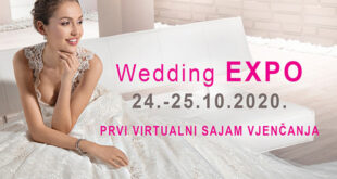 Wedding Expo 2020. – Prvi virtualni sajam vjenčanja