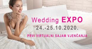 Wedding Expo 2020. – Prvi virtualni sajam vjenčanja
