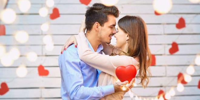 Valentinovo zaljubljeni par